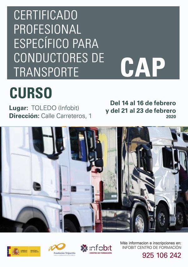 Certificado Profesional Específico Para Conductores De Transporte