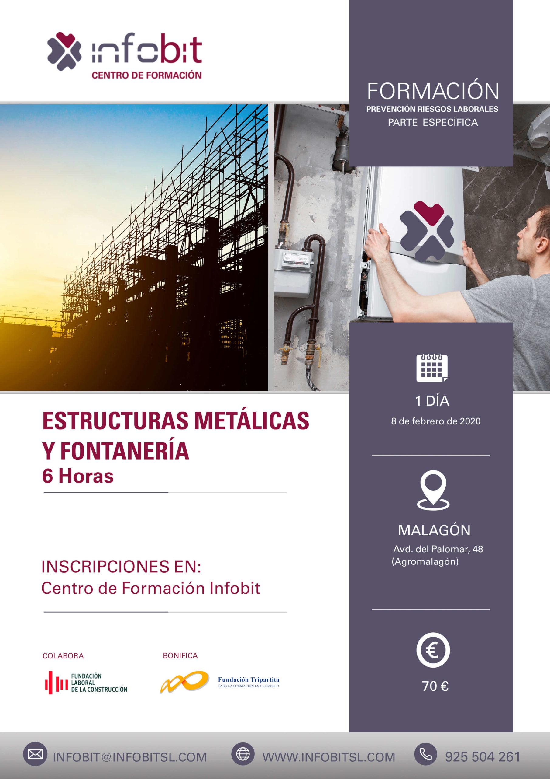 PRL Estructuras Metálicas Y Fontanería