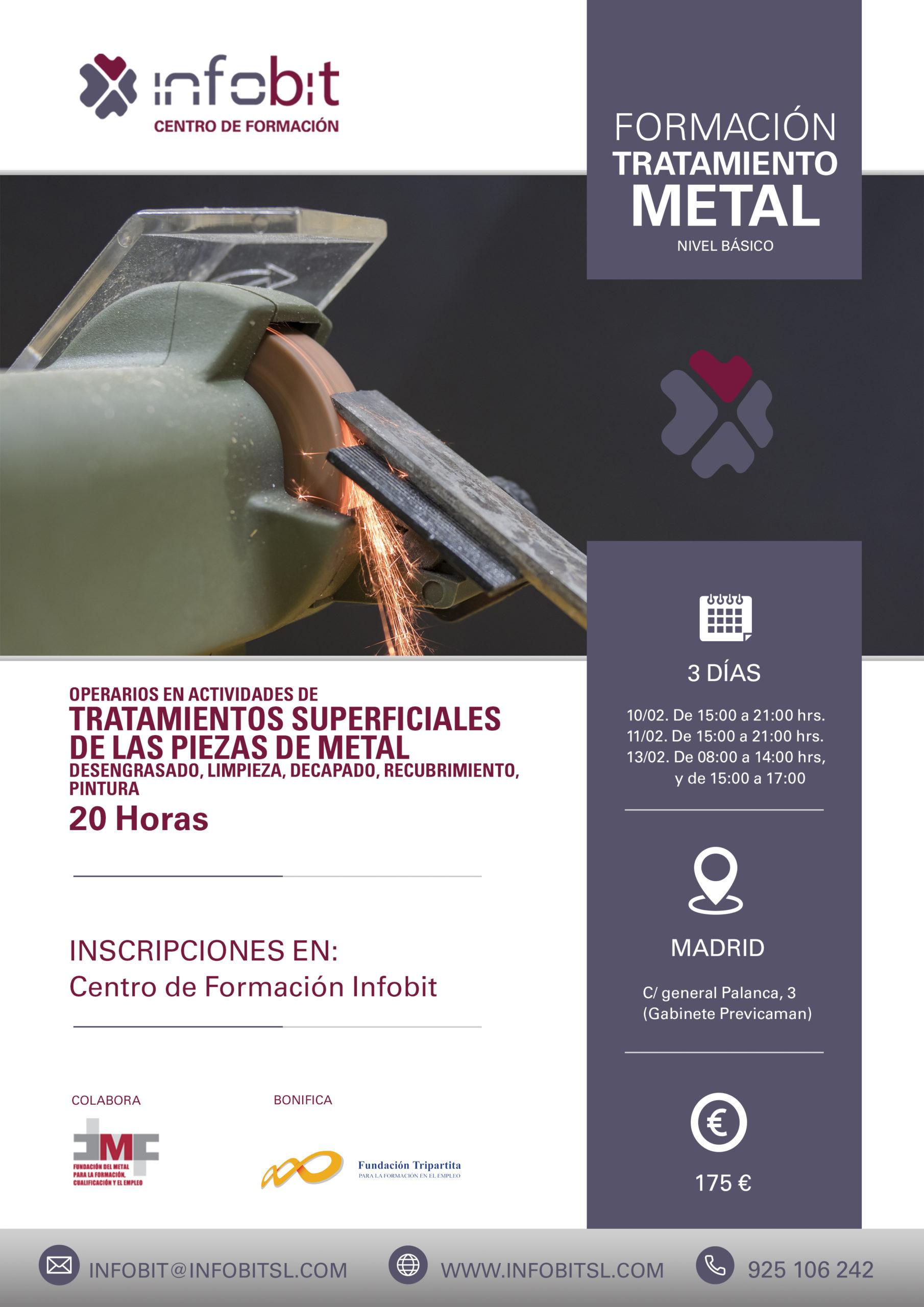 Tratamiento De Piezas De Metal. Chapa Y Pintura