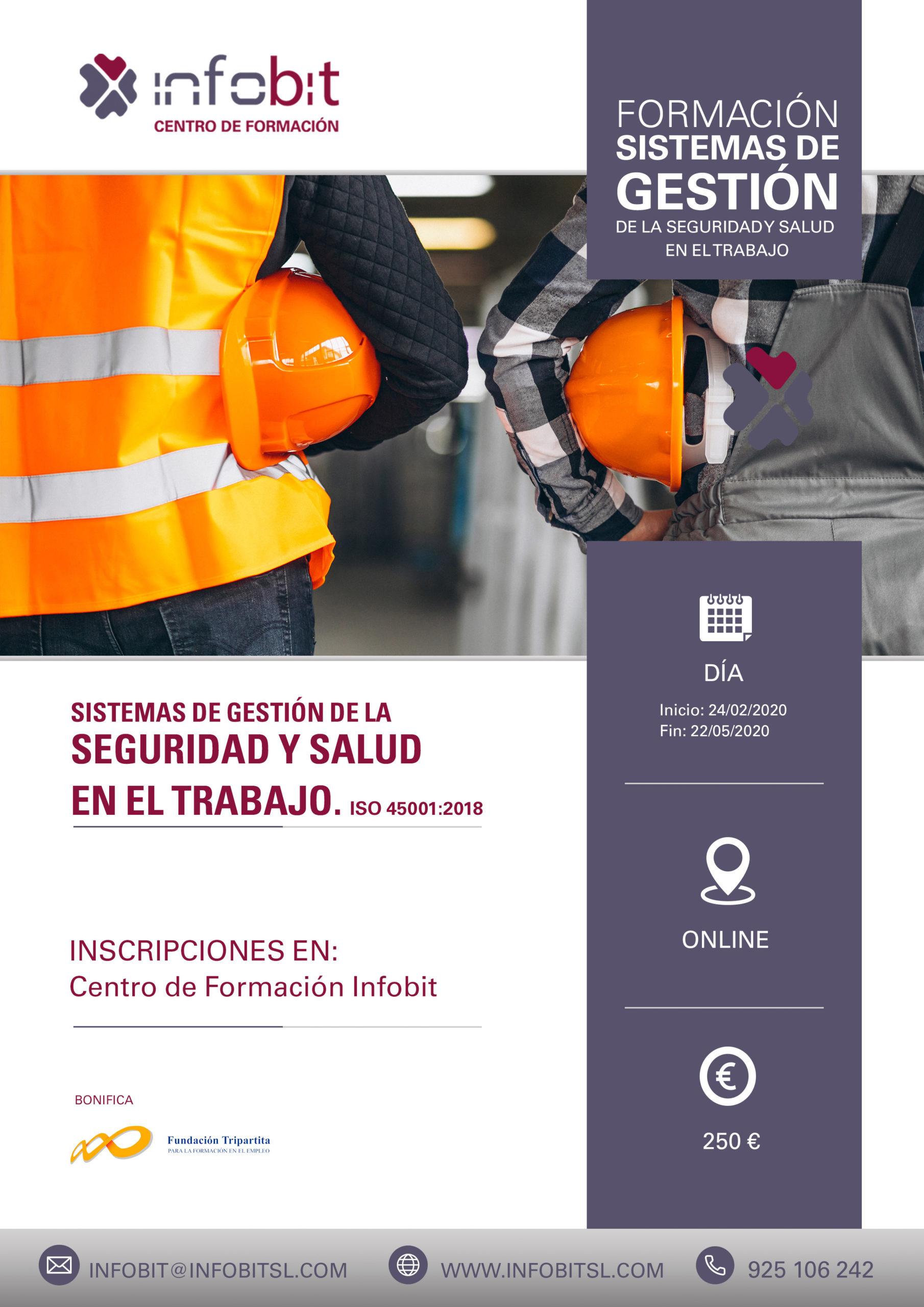 Seguridad Y Salud En El Trabajo. ISO 45001