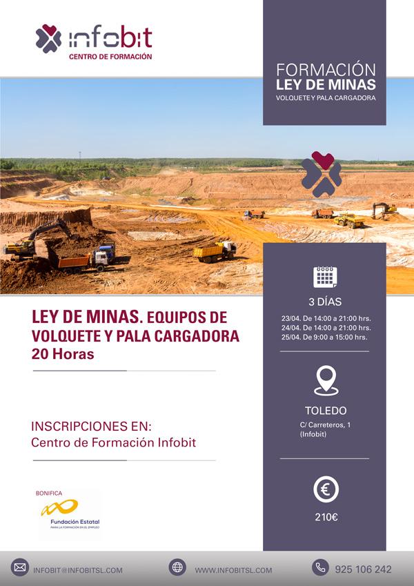 Equipos De Volquete Y Pala Cargadora. Ley De Minas, 20 Horas.