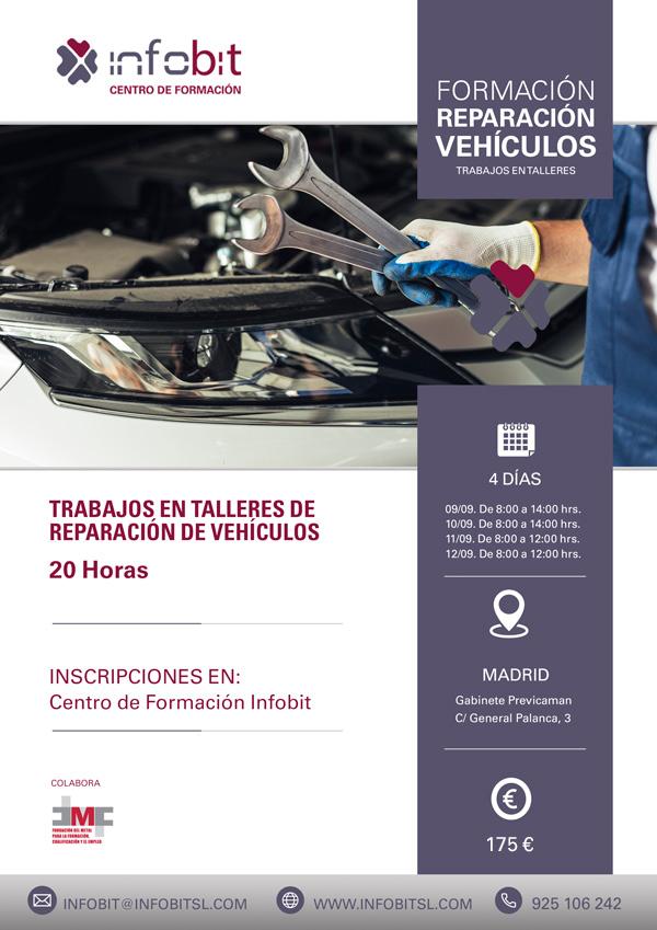 Reparación De Vehículos. Trabajos En Talleres. Madrid