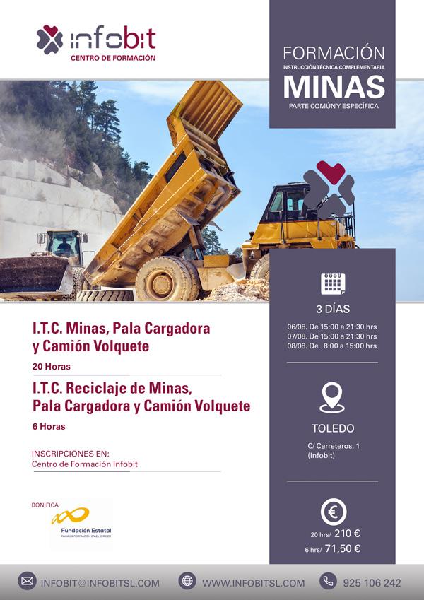Prevención En Minas, Pala Cargadora Y Camión Volquete. 20 Horas