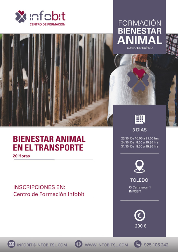Bienestar Animal En El Transporte. 20 Horas