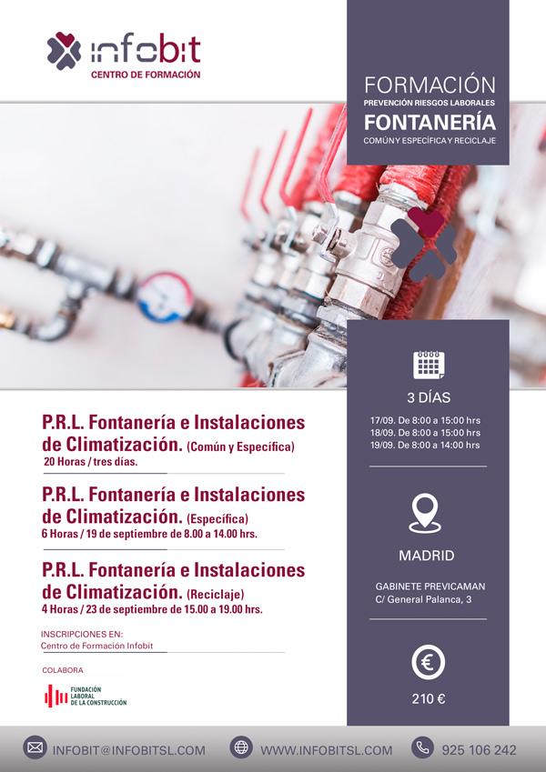 PRL Fontanería E Instalaciones De Climatización. Parte Específica