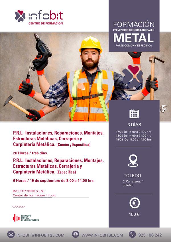 P.R.L. Instalaciones, Reparaciones, Montajes, Estructuras Metálicas, Cerrajería Y Carpintería Metálica. Parte Específica.