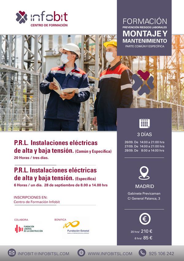Montaje Y Mantenimiento De Instalaciones Eléctricas De Alta Y Baja Tensión. Común Y Específica