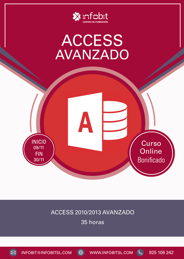 Access 2010/2013 Avanzado. Online