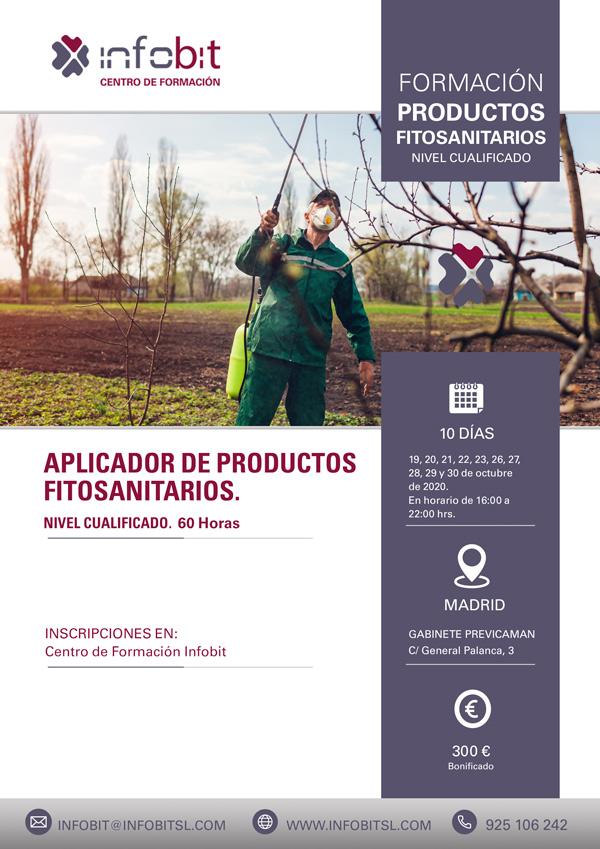 Productos Fitosanitarios. Nivel Cualificado, 60 Horas. Madrid