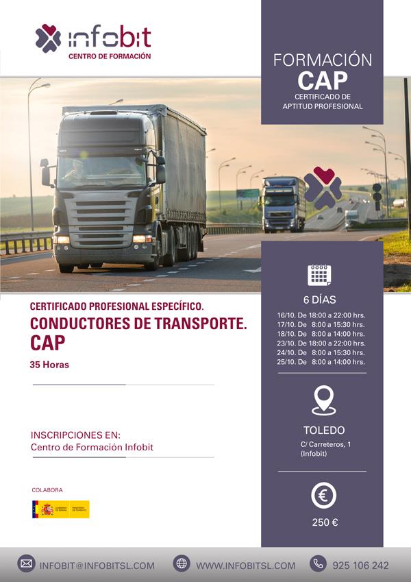 CAP, Certificado De Aptitud Profesional. Conductores De Transporte