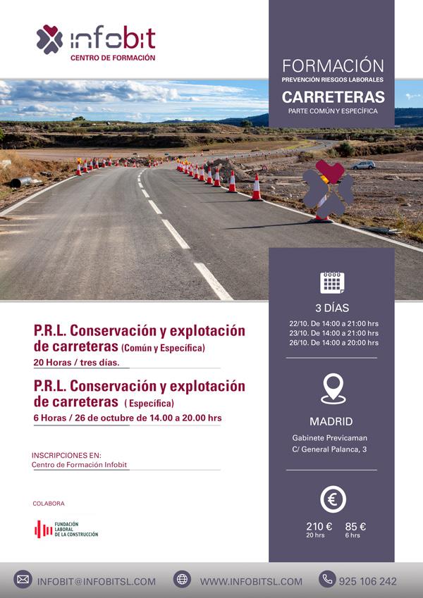 P.R.L. Parte Común Y Específica Para Conservación Y Explotación De Carreteras