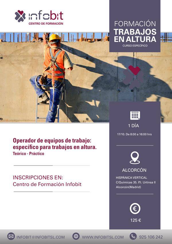 Trabajos En Altura. Teórico-práctico, En Alcorcón