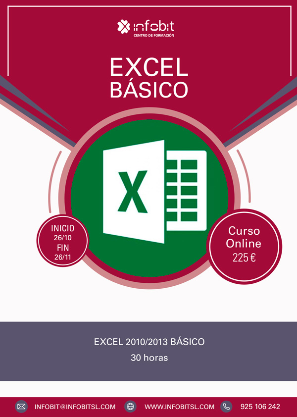 Excel Básico. 30 Horas