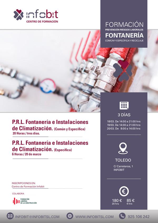 PRL Fontanería E Instalaciones De Climatización. Parte Común Y Específica (Toledo)