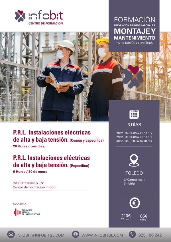 Montaje Y Mantenimiento De Instalaciones Eléctricas De Alta Y Baja Tensión.