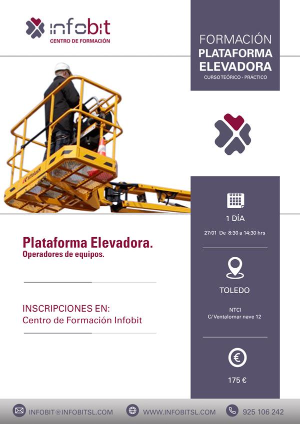 Operador De Equipo De Plataforma Elevadora, 6 Horas. Toledo