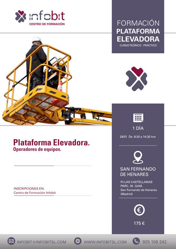 Operador De Equipo De Plataforma Elevadora, 6 Horas. S. Fernando De Henares