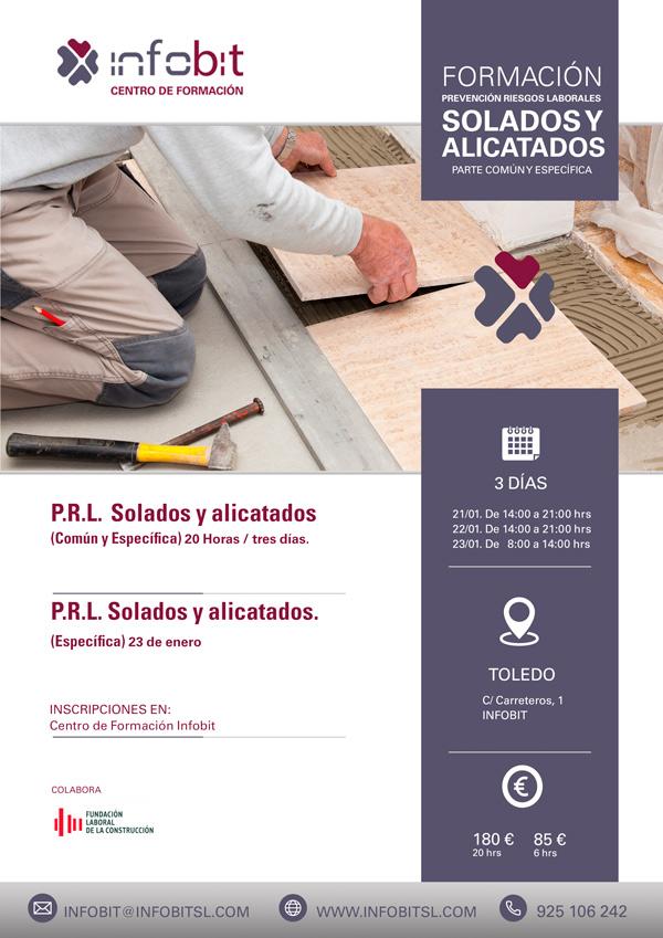 P.R.L. Solados Y Alicatados. 20 Horas. Toledo