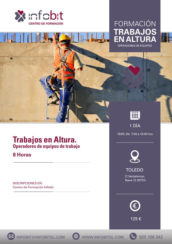 Trabajos En Altura. Teórico-práctico. Toledo