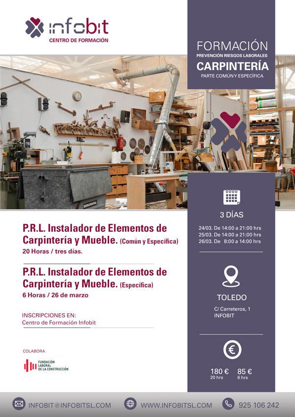 Instalador En Carpintería Y Mueble. Parte Común Y Específica, En Toledo