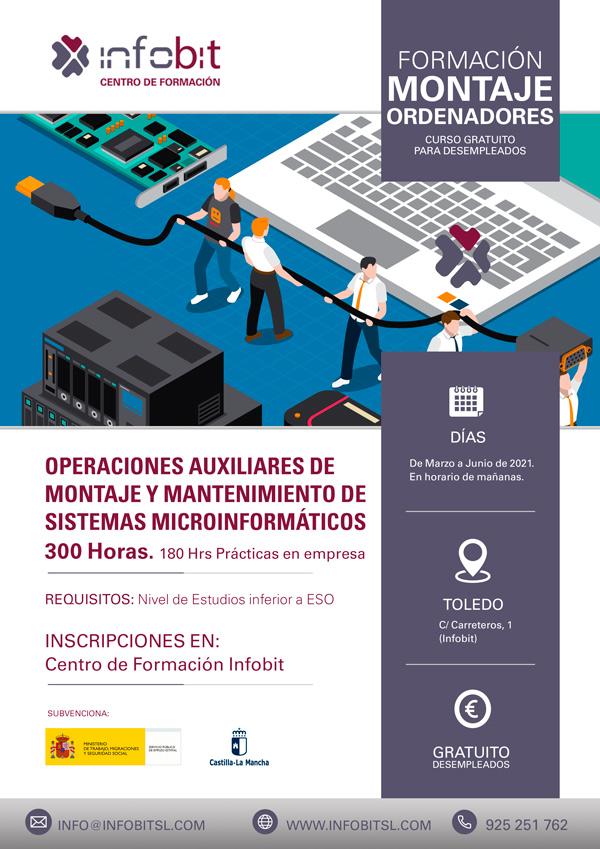 Operaciones Auxiliares De Montaje Y Mantenimiento De Sist. Microinformáticos, En Toledo