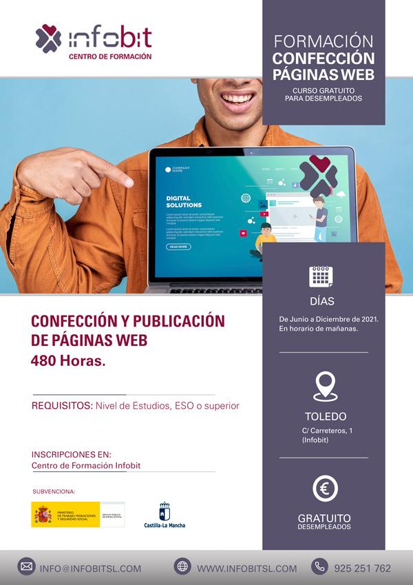 Confección Y Publicación De Páginas Web, En Toledo